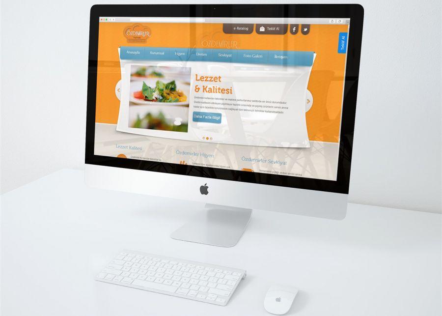 Özdemriler A.Ş. - Özdemirler Yemek A.Ş. Web tasarım projesi