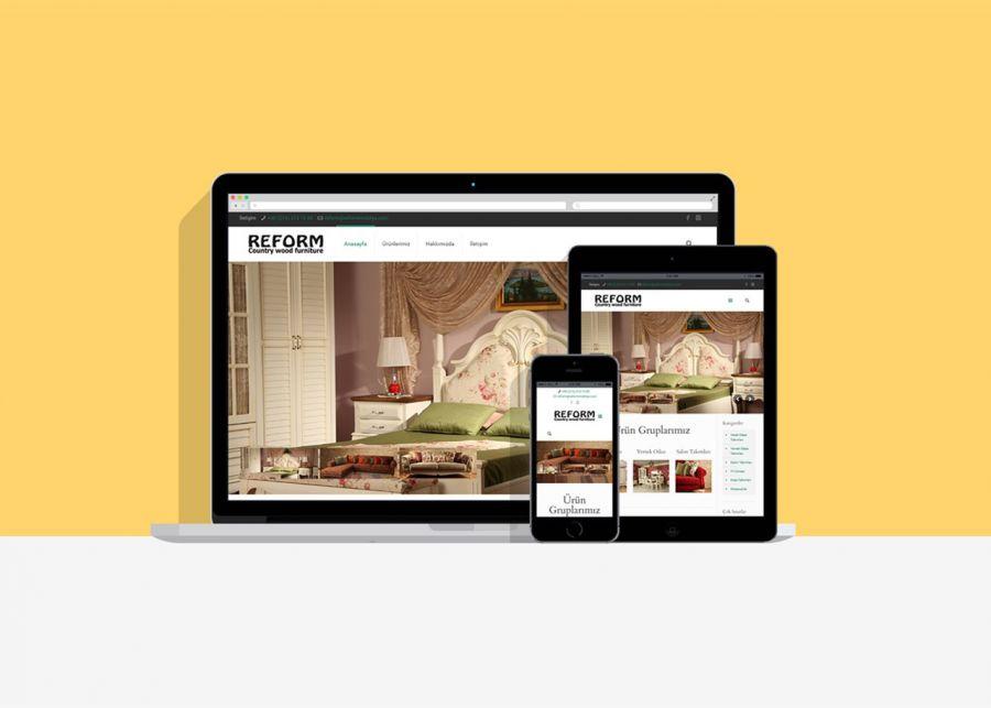 Reform Mobilya - Reform Web Tasarım