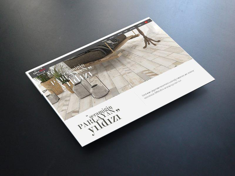 SERANOVA SERAMİK - Seranova Seramik Web tasarımı Projesi